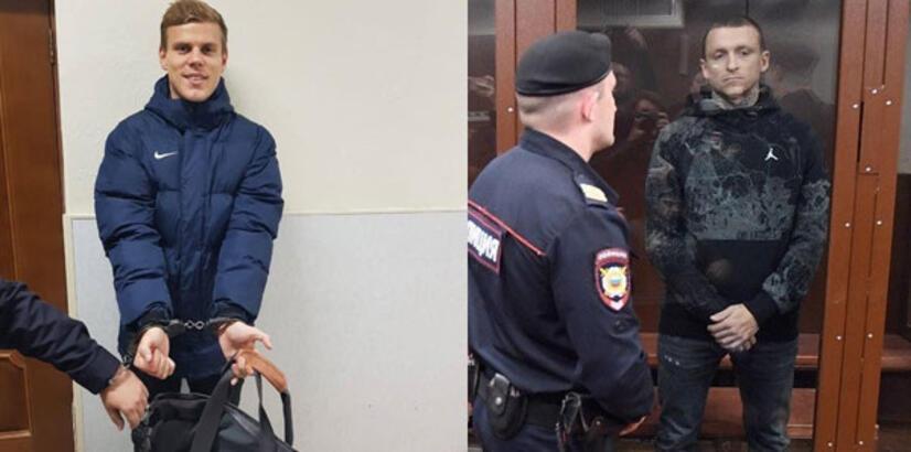 Ünlü Rus futbolcular Kokorin ve Mamaev tutuklandı