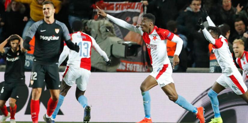 Slavia Prag, Sevilla'yı 119. dakikada yıktı!