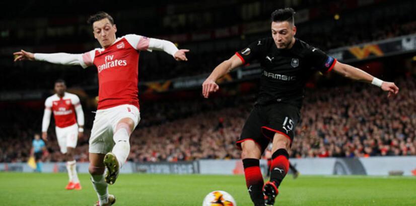 Arsenal - Rennes: 3-0
