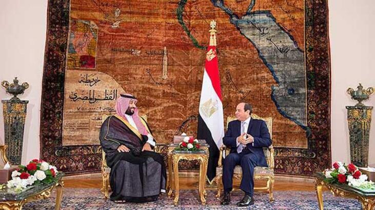 Bin Selman'ın Mısır ziyareti bayrak tartışmalarının gölgesinde kaldı