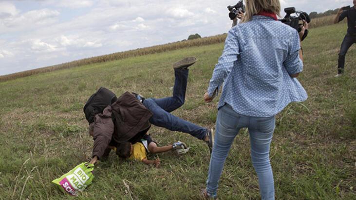 Mülteci tekmeleyen 'gazeteci' hakkında yeni karar!