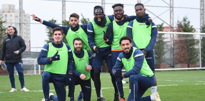 Başakşehir, Antalyaspor hazırlanıyor!