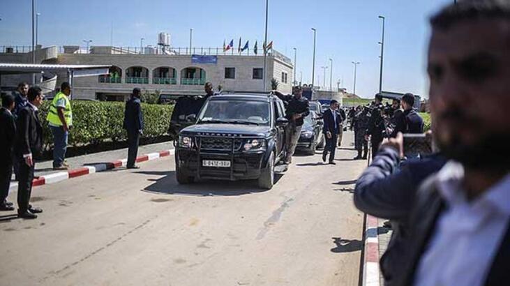 Yahudi yerleşimciler Filistin Başbakanının konvoyuna saldırdı