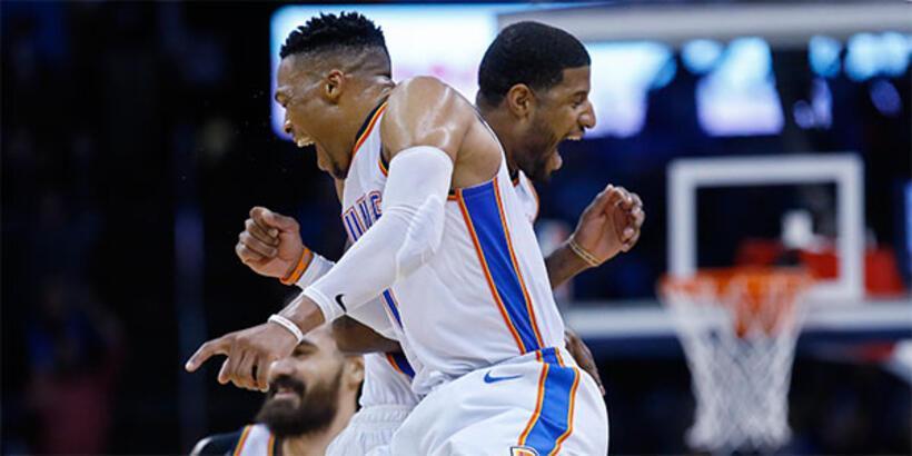 Westbrook rekor kırdı, Thunder kazandı!