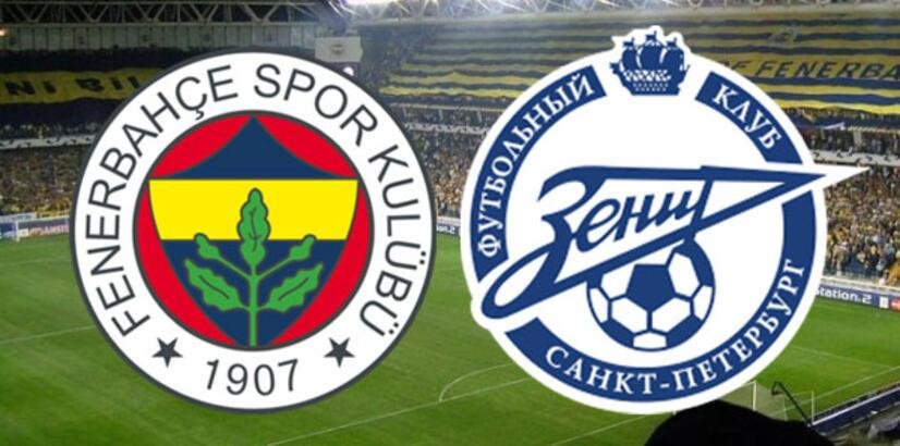 Fenerbahçe-Zenit maçı muhtemel 11'leri! Maç saat kaça hangi kanalda?
