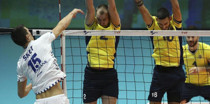 Fenerbahçe - Halkbank: 1-3