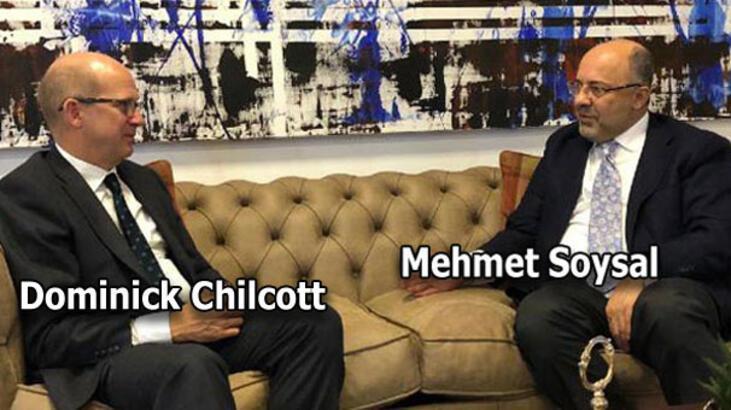İngiltere Büyükelçisi'nden Demirören Medya CEO'su Mehmet Soysal'a ziyaret