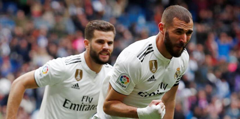 Real Madrid, Benzema ile kazandı