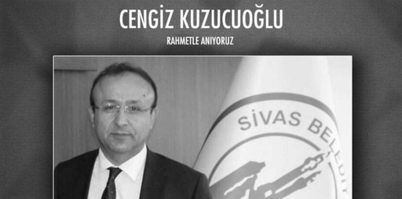 Sivas Belediyespor Asbaşkanı Kuzucuoğlu hayatını kaybetti