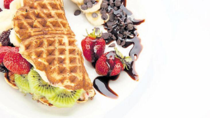 En çok waffle'ı Tekirdağ yiyor