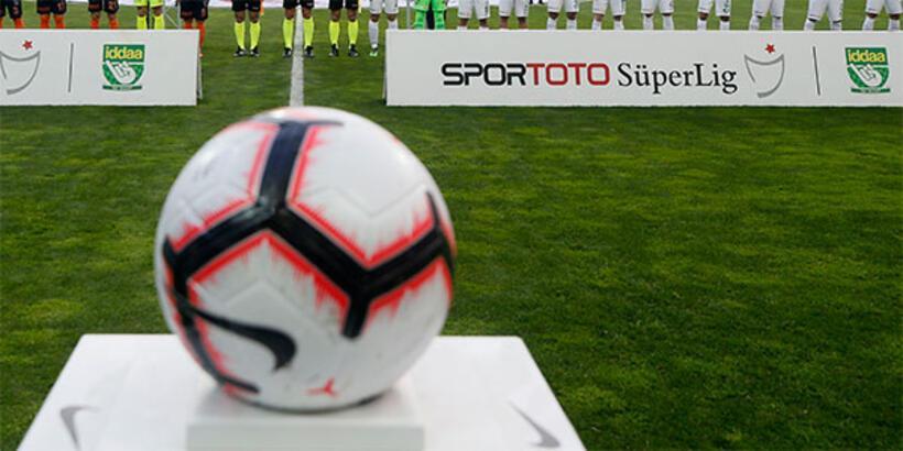 Spor Toto Süper Lig'de kritik hafta