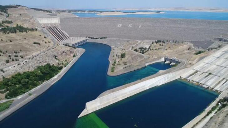 Atatürk Barajı'nda doluluk oranı yüzde 40 arttı
