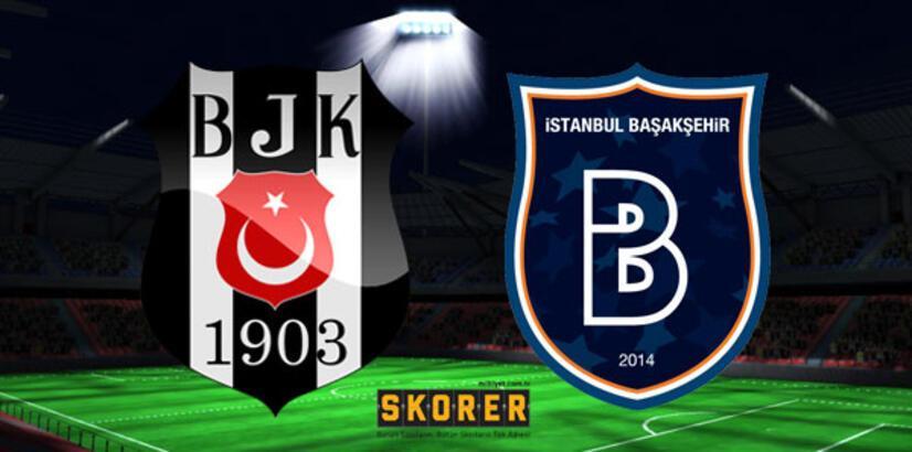 Beşiktaş - Başakşehir: 2-1