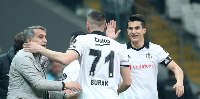 Burak Yılmaz, Beşiktaş'ın dertlerini bitirdi