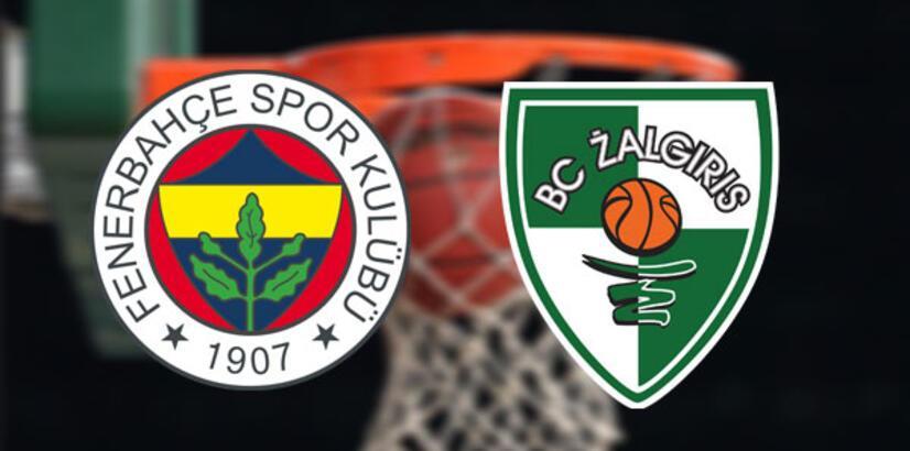 Fenerbahçe Beko-Zalgiris Kaunas çeyrek final maçı saat kaçta hangi kanalda?
