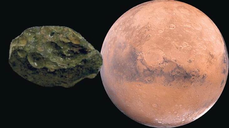 Mars'ta yaşam izi... Gök taşında tespit edildi