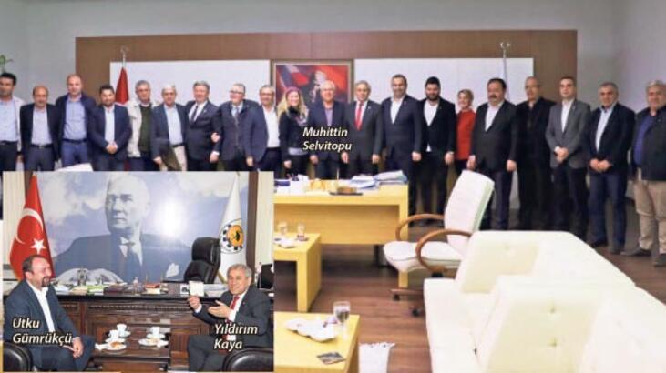 CHP'li Kaya'dan başkanlara ziyaret