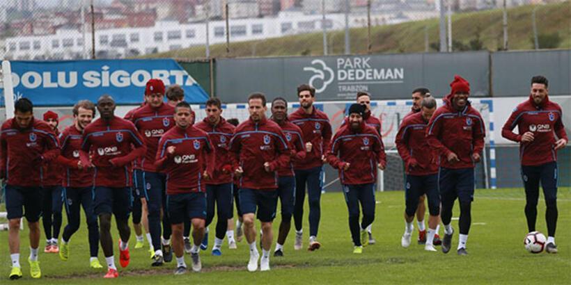 Trabzonspor'da Fenerbahçe mesaisi sürüyor