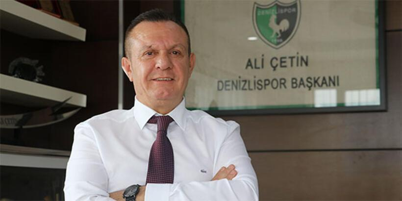 Denizlispor Başkanı Çetin: 9 yıllık hasret sona erecek