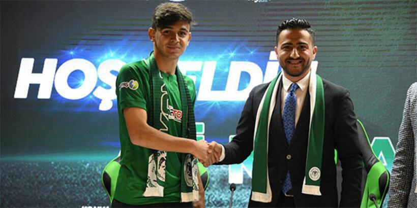Atiker Konyaspor, Ali Karakaya ile profesyonel sözleşme imzaladı