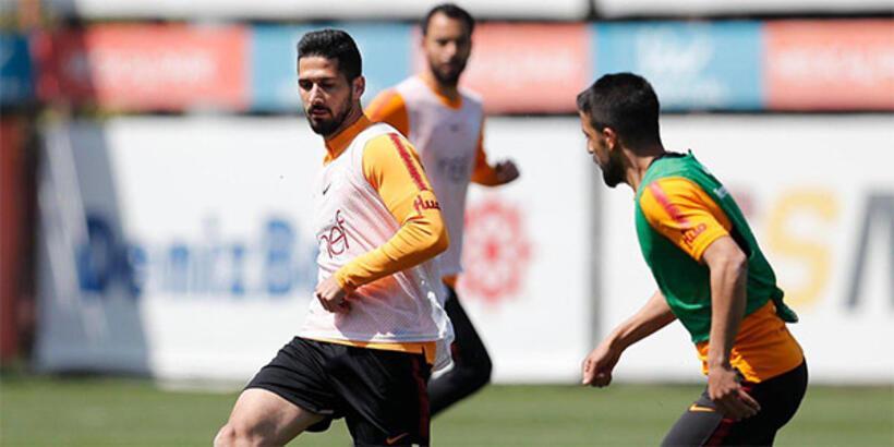 Galatasaray'da Atiker Konyaspor hazırlıkları sürüyor