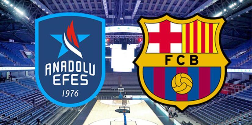 Anadolu Efes Barcelona Lassa maçı ne zaman saat kaçta hangi kanalda?