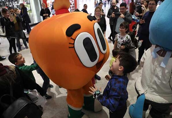Cartoon Network kahramanları Emaar'da çocukları bekliyor!