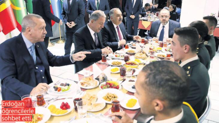 Erdoğan'dan Milli Savunma Üniversitesi öğrencilerine: Kandil ve Sincar'ı sizler yıkacaksınız