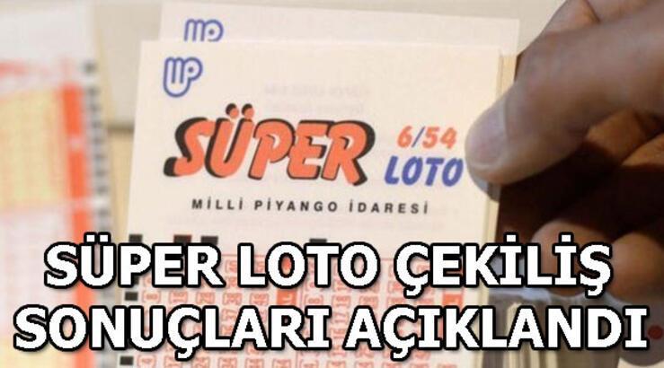 Süper Loto çekiliş sonuçları açıklandı! MPİ 9 Mayıs Süper Loto çekiliş sonuçları