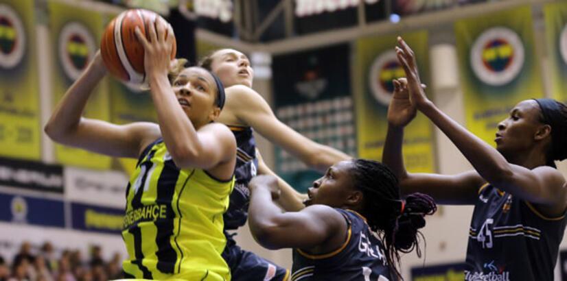 Kadınlar Basketbol Süper Ligi'nde şampiyon Fenerbahçe!