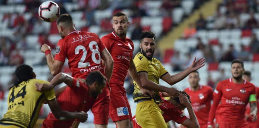 Antalyaspor - Yeni Malatyaspor: 3-0