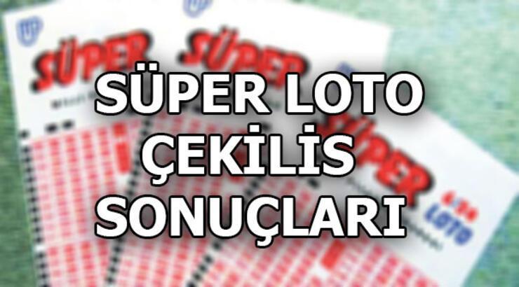 Süper Loto çekiliş sonuçları belli oldu (23 Mayıs MPİ Süper Loto sonuç sorgulama ekranı)