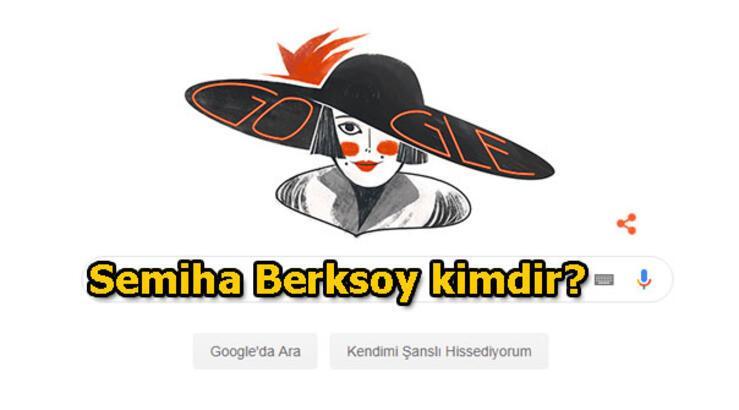 Semiha Berksoy kimdir? İlk Türk kadın opera sanatçısı Google ana sayfasında