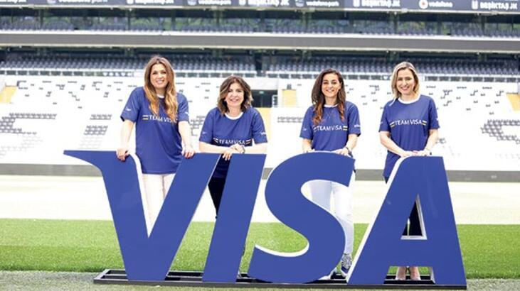 Visa'dan kadın futboluna destek