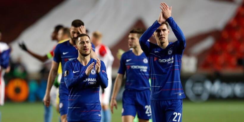 Chelsea'nin final yolu