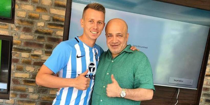 Adana Demirspor transferi resmen açıkladı!