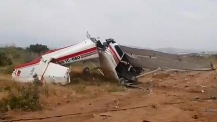 Son dakika... Antalya'da eğitim uçağı düştü! Ölü sayısı yükseldi