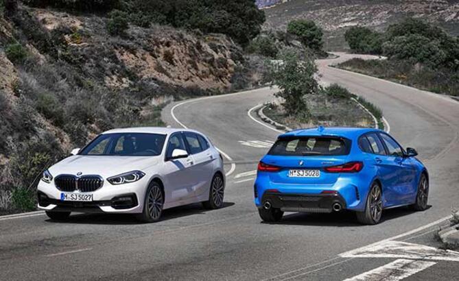 BMW yeni 1 serisi gün yüzüne çıktı! Tarihte ilk defa...