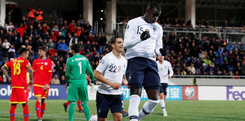 Fransa deplasmanda gol yağdırdı!
