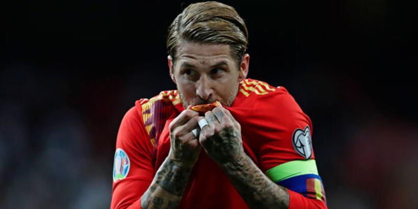 Ramos, İspanya'yı golleriyle taşıyor