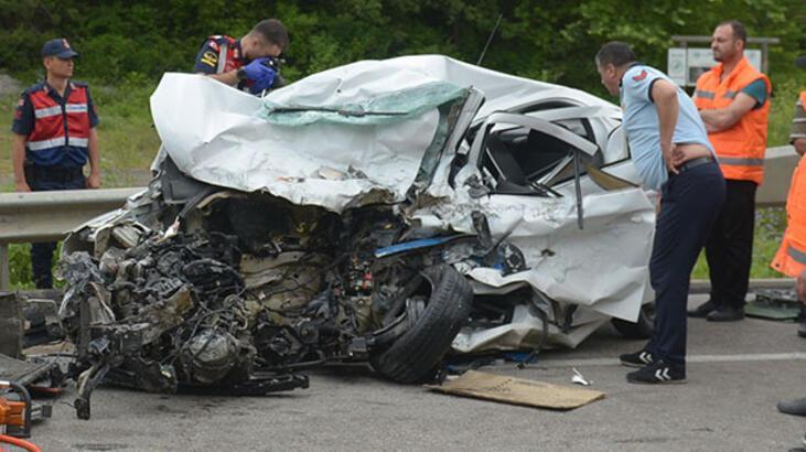 Son dakika... Korkunç kaza! İki üniversite öğrencisi feci şekilde can verdi