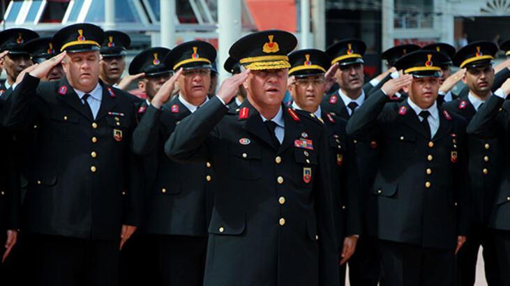 Taksim'de Jandarma'nın 180'inci yıl kutlaması