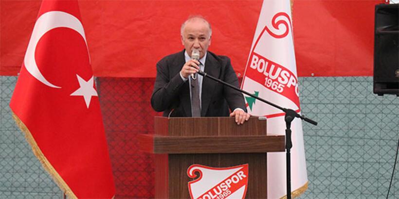 Boluspor'da Necip Çarıkçı yeniden başkan!