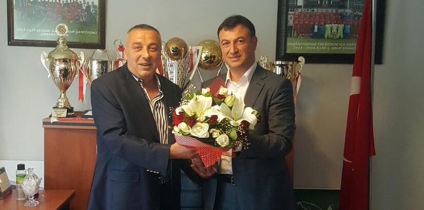 Ümraniyespor'da Tarık Aksar başkan seçildi