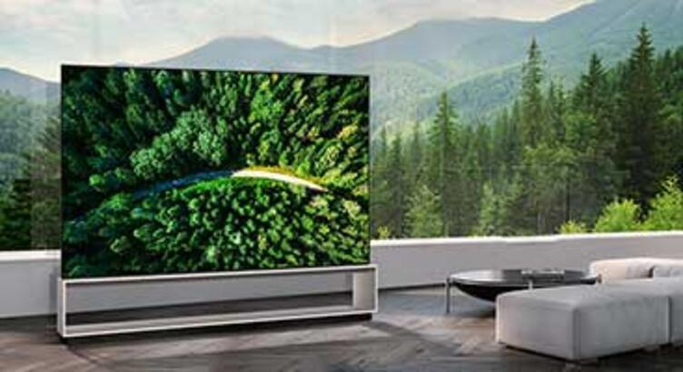 LG dünyanın ilk 8K OLED TV'sini satışa sundu!