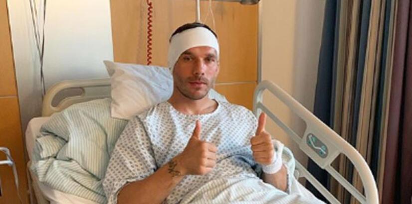 Podolski'ye başarılı ameliyat