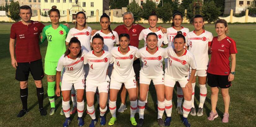 Kadın millilerden Moldova'da beraberlik