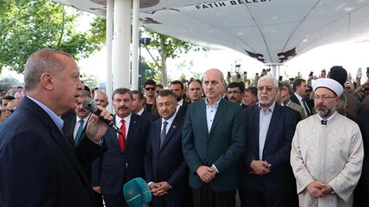 Cumhurbaşkanı Erdoğan'dan Mursi açıklaması: Normal bir ölüm olduğuna inancım yok