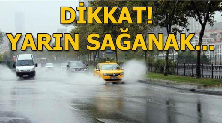 Hava durumu yarın nasıl olacak? Meteoroloji açıkladı: Perşembe günü sağanak...