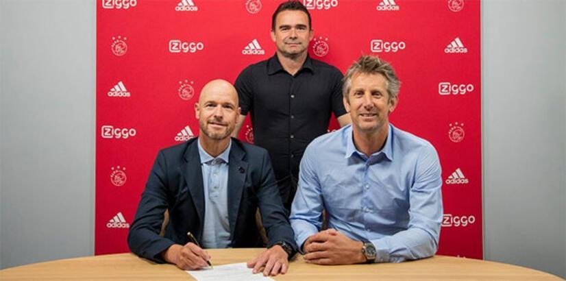 Ajax'ta Erik ten Hag'ın sözleşmesi uzatıldı